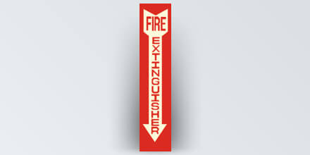 Fire Extinguisher 4 x 20 in