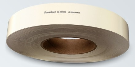 Photoluminescent polyester handrail tape with NYC-required Labeling
