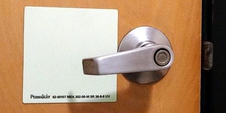 Door Handle Marking