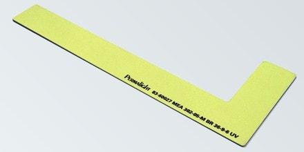LEFT side step marker, Aluminum