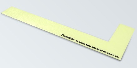LEFT side step marker, Flexible vinyl