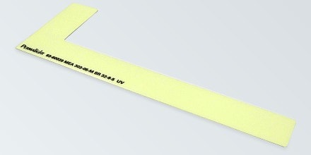 RIGHT side step marker, Flexible vinyl