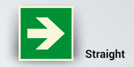 Directional Signage - Straight