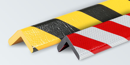 Type H+: Corner protection, self-adhesive