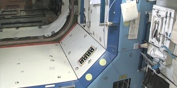 This hatch leads to Node 1 and then to Russian segment where Soyuz is docked