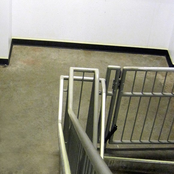 Hilton Cleveland Downtown - Handrail, Demarcation Perimeter Lines