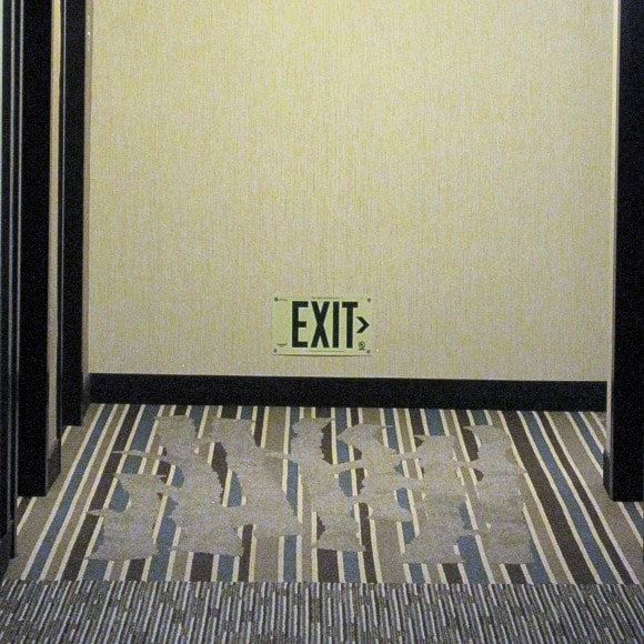 Hyatt Place - EXIT sign (right)