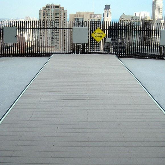 Marina Towers - Rooftop installation