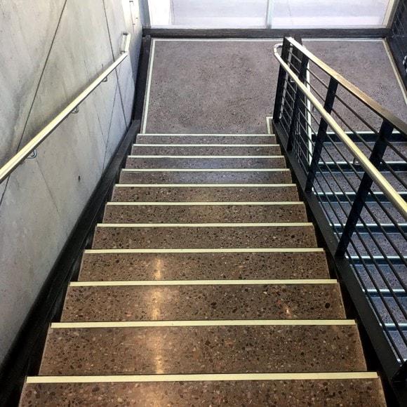 Biomedical Sciences Partnership Building - Steps, Handrail