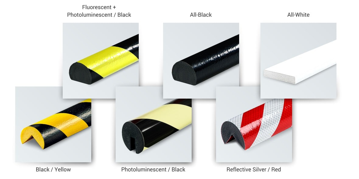 Safety Bumper Guards - The right colors