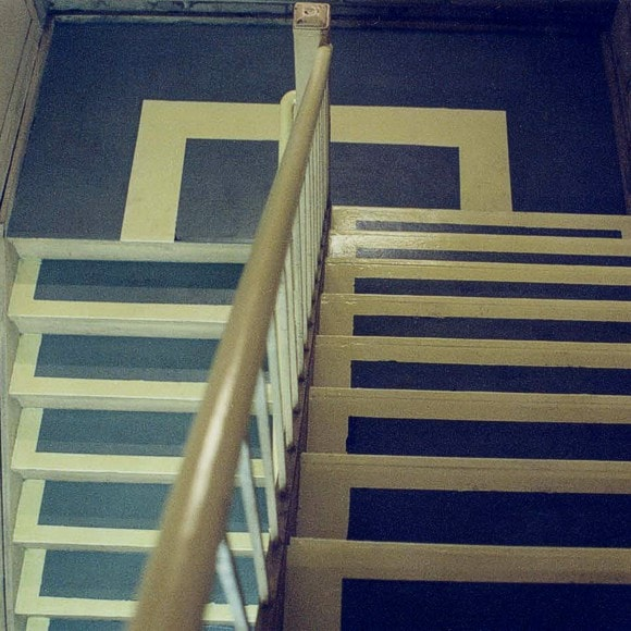 Permalight® Photoluminescent Markings on steps, landings and handrails (1994)
