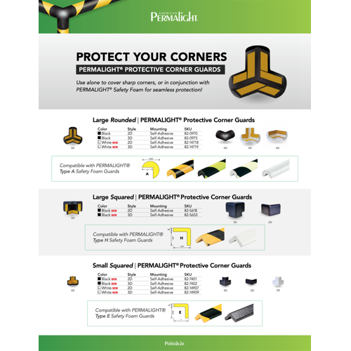 Protective Corners and Matching Foam Guards Installation Instructions [Thumb]
